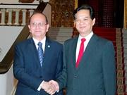 Entrevue Nguyen Tan Dung-Thein Sein