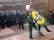 HCM-Ville et Quang Binh disent adieu au général Giap