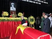 La cérémonie de derniers hommages en mémoire du général Giap