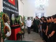 Hommages du général Vo Nguyen Giap de l'étranger