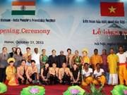 Ouverture du Festival d'amitié populaire Vietnam-Inde à Hanoi