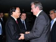 Une délégation du Parti communiste du Vietnam en visite en France