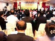 Colloque sur le développement durable Laos-Cambodge-Vietnam