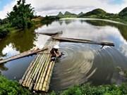 Vernissage d'une exposition photographique sur les patrimoines du Vietnam