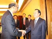 Vu Van Ninh achève sa visite à Singapour