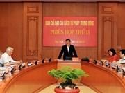 Réunion du Comité de pilotage de la réforme judiciaire