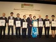 Les entreprises vietnamiennes honorées par Forbes Asia