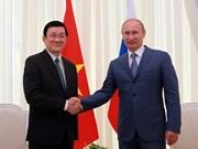 Truong Tan Sang:  Vladimir Poutine, grand ami du peuple vietnamien