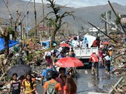 Ravages du typhon Haiyan aux Philippines et assistance internationale