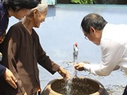 Aide sud-coréenne pour l'approvisionnement en eau potable à Can Tho