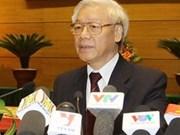 Le leader du PCV Nguyen Phu Trong bientôt en Inde