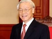 Nguyen Phu Trong part pour l'Inde