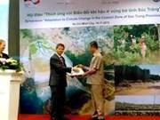 L'Allemagne remet des données géospatiales du littoral au Vietnam