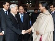 Le Vietnam estime le développement du partenariat stratégique avec l'Inde