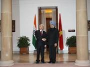 Le leader du PCV termine sa visite d'Etat en Inde