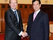 Nguyen Tan Dung reçoit le ministre néo-zélandais de la Défense