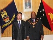 Renforcement des relations avec la Papouasie-Nouvelle-Guinée