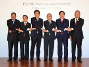 Nguyen Tan Dung assiste au 5e Sommet Mékong-Japon à Tokyo
