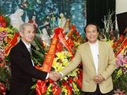 Rencontre à l'occasion de Noël à Hanoi