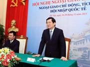 Le président participe à la 28e conférence sur la diplomatie
