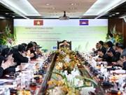 Le Cambodge accueille favorablement les hommes d'affaires vietnamiens
