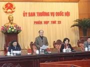 Prochainement la 24e session du Comité permanent de l'AN