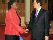 Le PM reçoit la directrice de la Banque mondiale au Vietnam