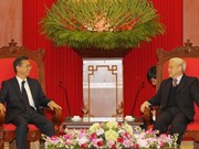 Nguyen Phu Trong reçoit le nouvel ambassadeur du Japon