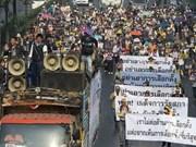 Thaïlande : l'armée refuse l'appel du meneur des manifestations