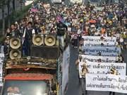 Les manifestants menacent de paralyser Bangkok le jour des élections