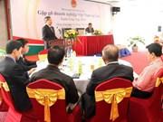Rencontre avec des entreprises vietnamiennes au Laos