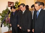 Les dirigeants vietnamiens rendent hommage à une héroïne cubaine