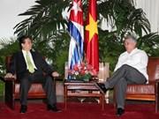 Le Premier ministre effectue une visite officielle à Cuba