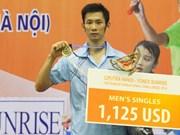 Badminton: Tien Minh remporte le tournoi Ciputra Hanoi 2014