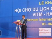 Ouverture de la foire internationale du tourisme 2014