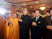 Cérémonie commémorative du bonze supérieur Thich Tri Tinh