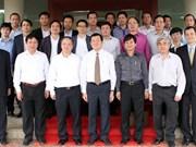 Le président inspecte le chantier d'université Vietnam-Japon