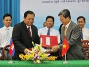 Vietnam-Cambodge : renforcement de la coopération décentralisée