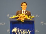 Le Vietnam à la conférence annuelle du Forum de Boao pour l'Asie de 2014