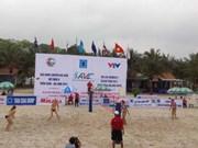 Beach-volley féminin: la Thaïlande remporte le tournoi international de Tuan Chau-Ha Long