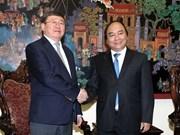 Nguyên Xuân Phuc reçoit un vice-ministre mongol