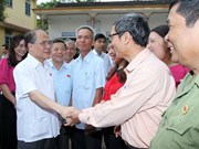 Le président de l'AN rencontre l'électorat de la province de Ha Tinh