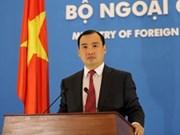 Le Vietnam proteste contre tout acte illégal dans ses eaux