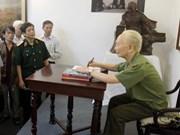 Colloque sur le général Vo Nguyen Giap et Dien Bien Phu