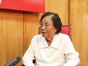 Mme Nguyên Thi Binh : les actes de la Chine sont une grave agression