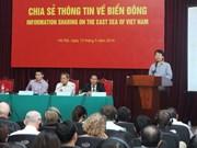 Les ONG informées de la situation en Mer Orientale