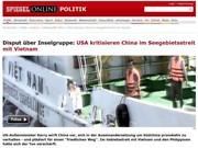 Mer Orientale : les médias allemands informent des actes provocateurs de la Chine