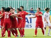 Championnat d'Asie: les Vietnamiennes poursuivent leur route