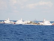 Mer Orientale : les navires chinois continuent d'entraver la flotte du Vietnam en mission
