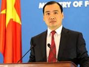 Le Vietnam continue de défendre sa souveraineté
